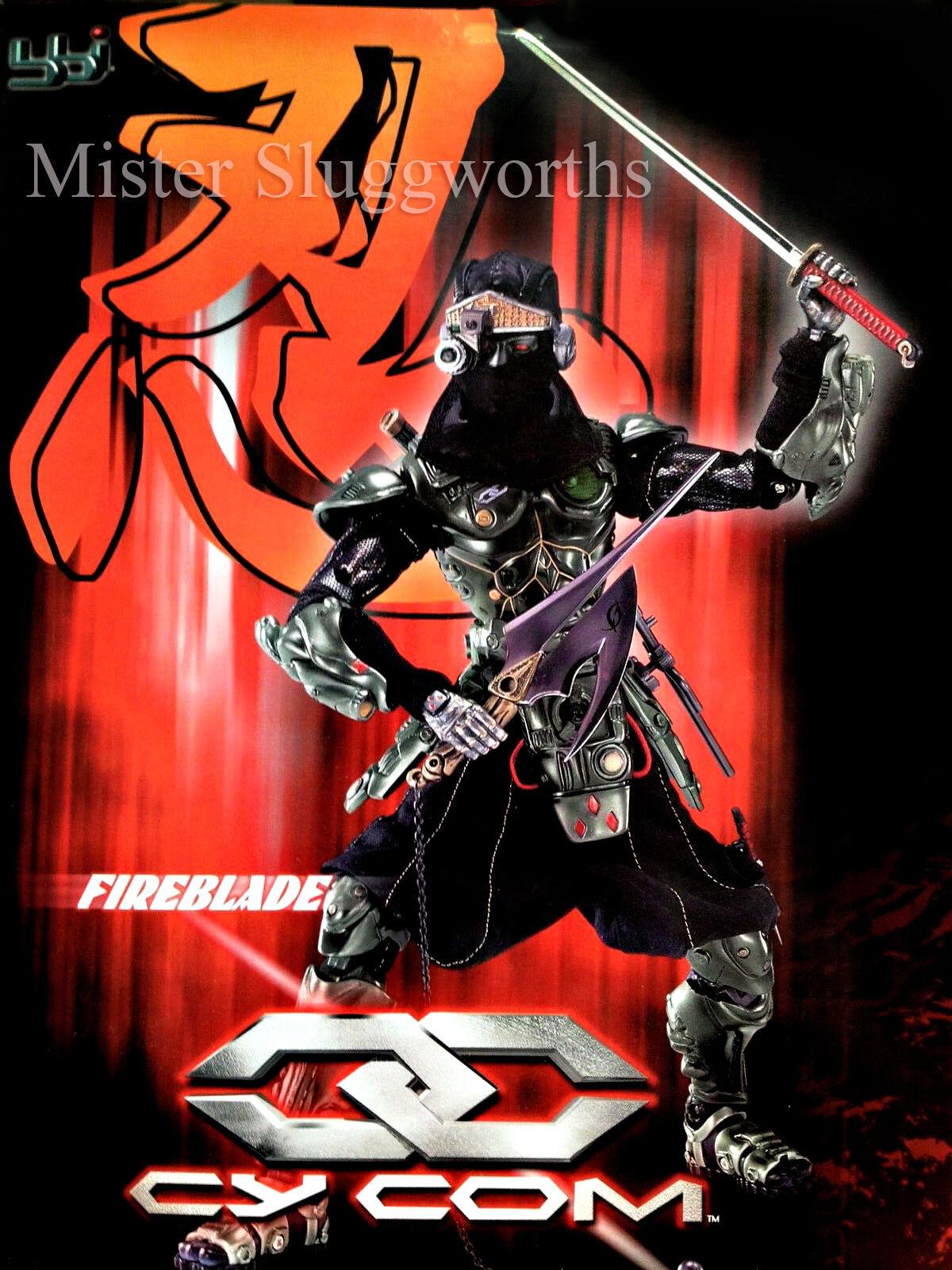 Blau Box BBi 1 6 Cy Com Series Fireblade GI Joe Henshin Ninja Assassin MIB Rare