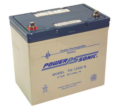 PS12550 PS-12550 SLA, förseglade blysyror Batterier