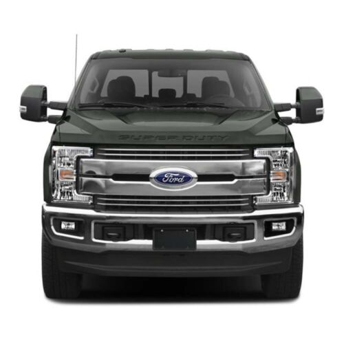 2017-2019 Ford F-250 350 450 SUPER DUTY Hood Stainless Steel Chrome Letters Set