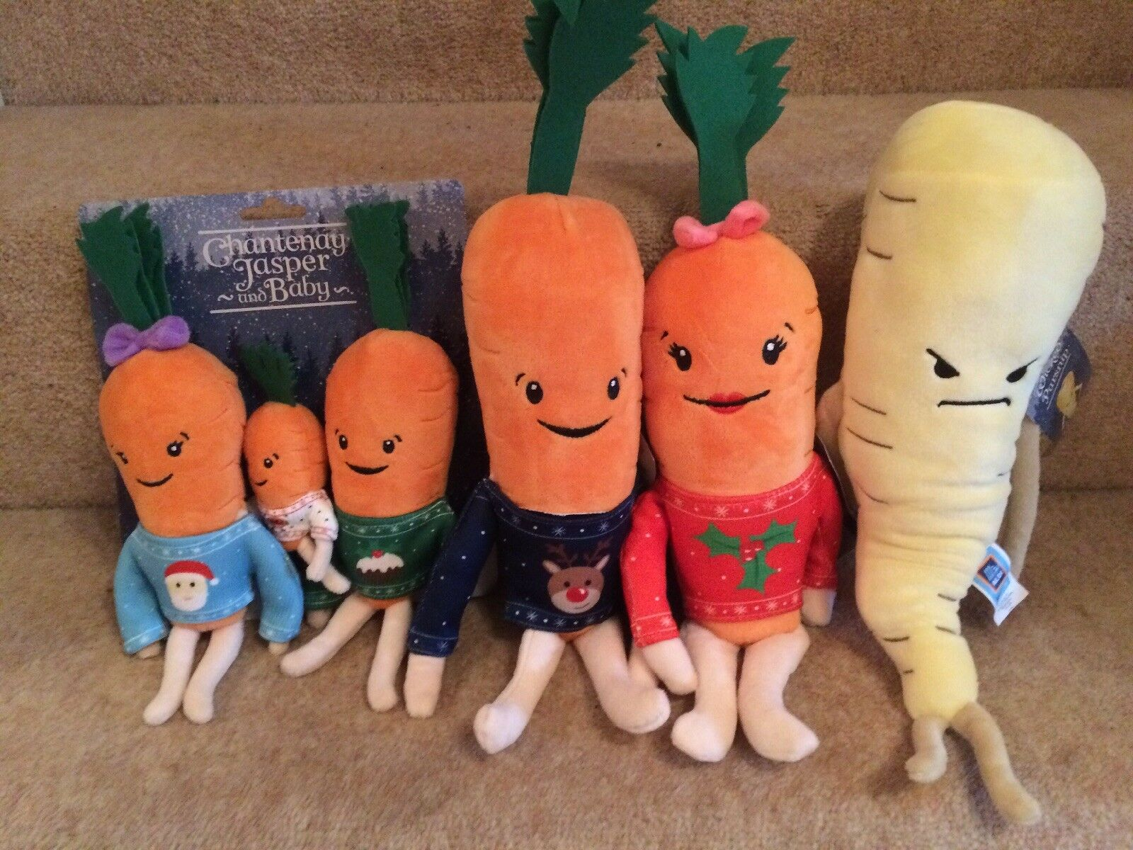 Aldi Kevin The Carred Katie Chantenay Jasper Baby Pascal EvilParsnip Full Family