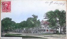 1906 Stockbridge, MA Postcard: Red Lion Inn, Main Street - Massachusetts Mass