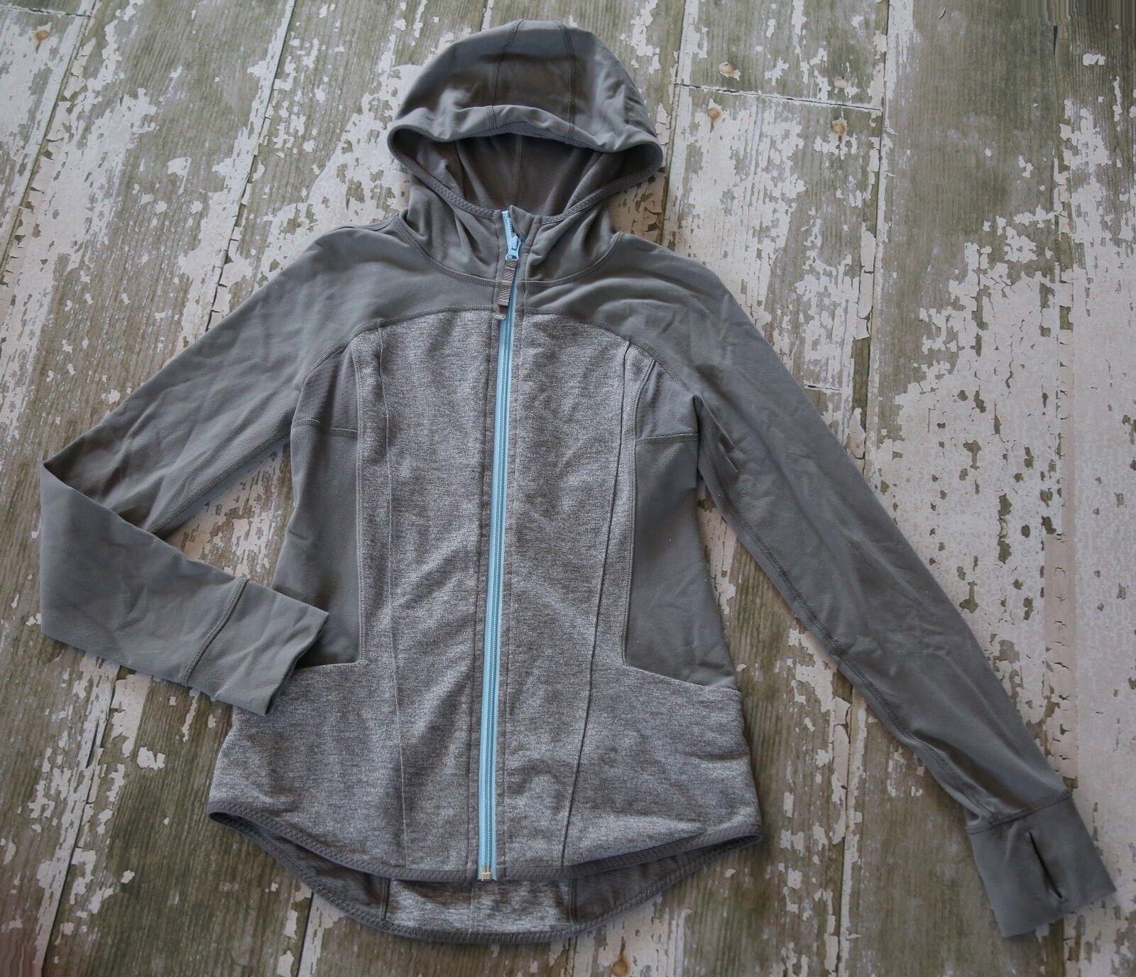 IVIVVA Hosszú ujjú READY to PERFORM kabát pulóver szürke kapucnis lyukak 14