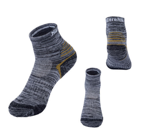 2 Pairs Men Women Socks Summer Quick-dry Outdoor Hiking Run Work Boot Socks