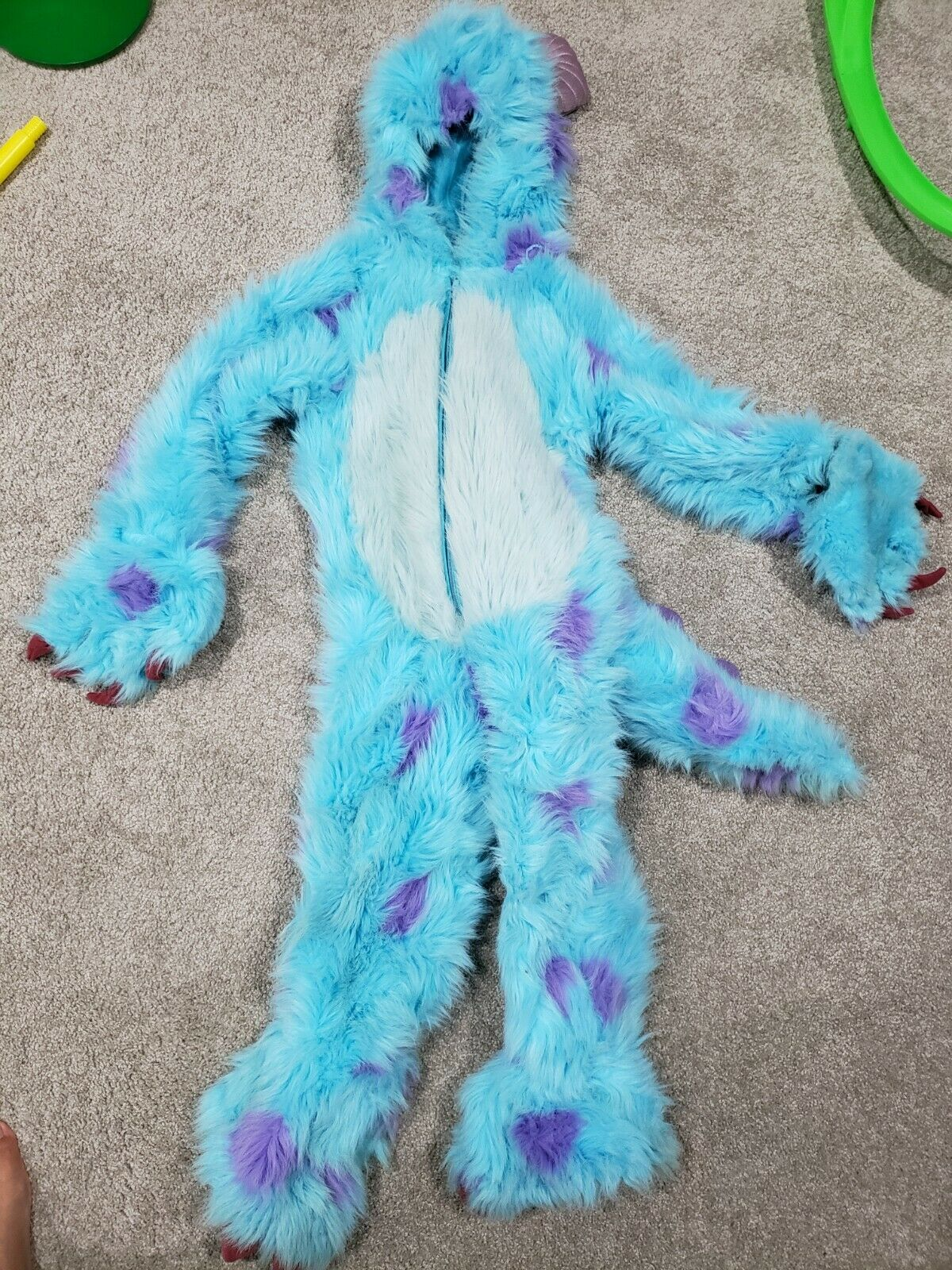 Disguise Deluxe Monsters Inc Sully Adult Costume 58783d For Sale Online Ebay