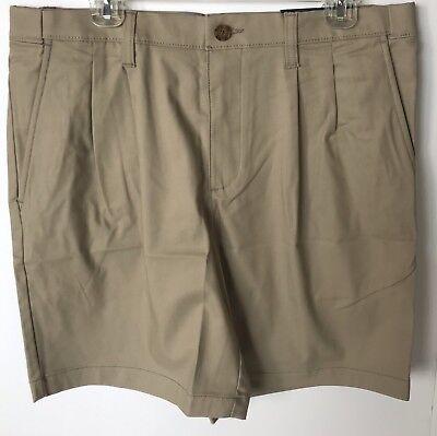 Croft Barrow Mens Flex Waist Cargo Shorts Cotton size 32 36 38 40 42 44 NEW