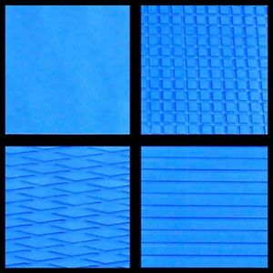 Details about Hydro-Turf In Stock - Sheet Material - Light Blue Cut Groove  - Ready2Ship