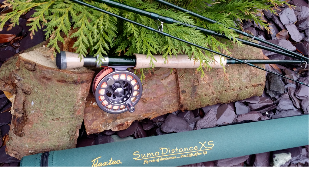 Flextec SUMO Distance - Canna da Pesca a Mosca - GRAFITE di Carb.- 9 Ft    7-8