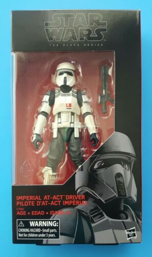 """Star Wars Hasbro The Black Series Target Exclusive AT-ACT Driver 6/"""" Near Mint"""