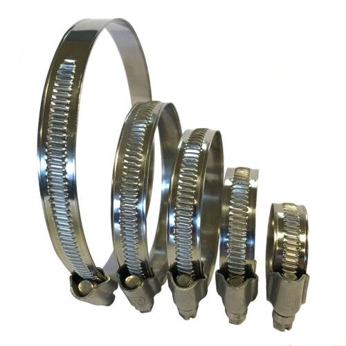85 Piece Zinc Plated hose clip set Fuel Hose Air Water Clamp Worm Drive