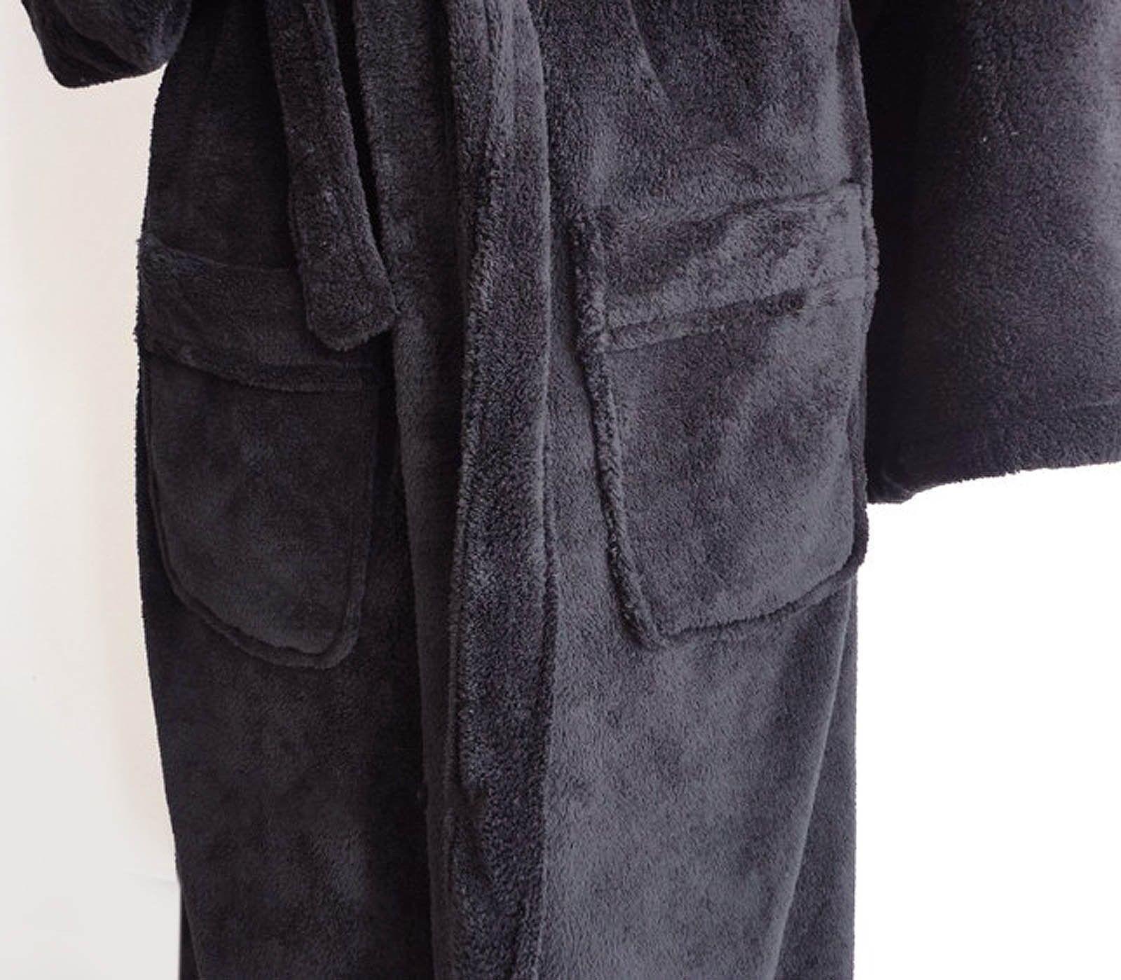 779f4f5cd5 Mens Hooded Bathrobe Turkish Cotton Terry Spa Robe With Hood Men Star War  bath 7 7 of 10 ...