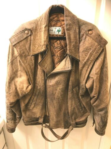 Leather Jacket-Mens