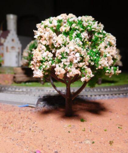 hauteur 80 mm-LIVRAISON GRATUITE 10 Rose blanchâtre florissante arbres