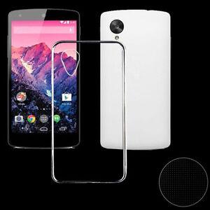Ultra-delgada-Cubierta-TPU-Transparente-Carcasa-Funda-Para-LG-Google-Nexus-5