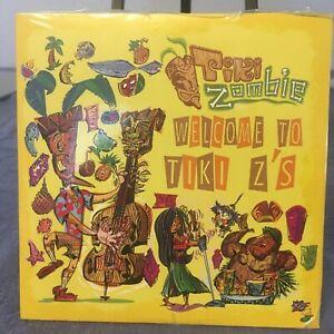 Tiki Zombie Welcome To Tiki Z's CD Surf Zombie Fun! Timothy Price NEW! SIGNED!