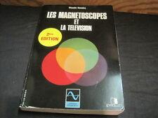 Claude GENDRE: les magnétoscopes et la télévision