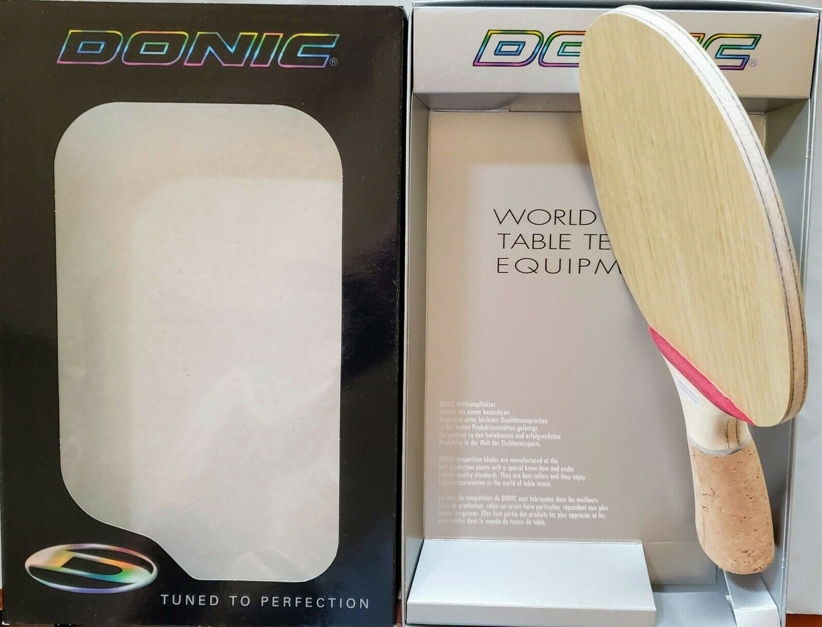 Donic Waldner Dotec Carbon OFF Unique Right Handle Version Table Tennis Blade