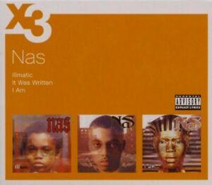 Nas-Illmatic-It-Was-Written-I-Am-3-Album-Box-Set-VERY-GOOD-condition