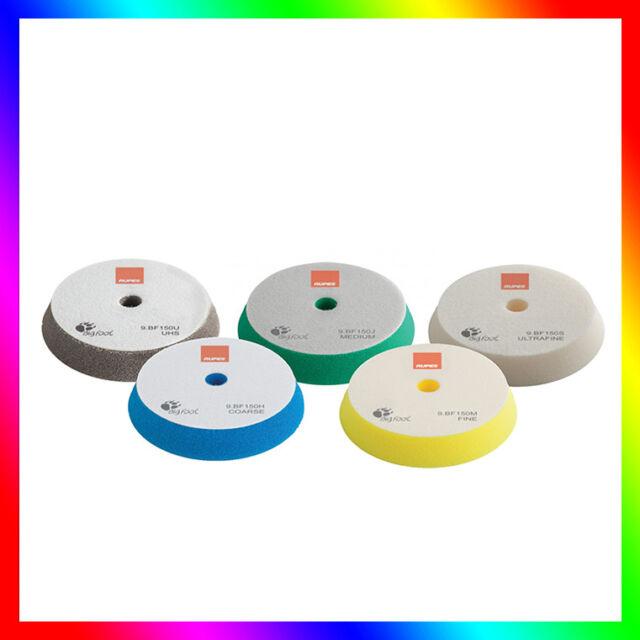 RUPES Tampons/ Disques de polissage (130/150mm) Mousses éponges à polir.5 pièces