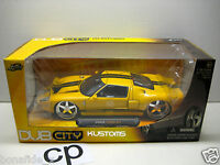 Jada Dub City Kustoms 2005 Ford Gt 1:24 Yellow Car-passenger Dub/jada Cars