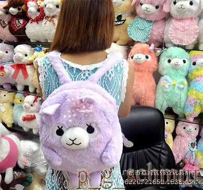 Cute Arpakasso Alpaca Plush Backpack Shoulder Bag For School Girls XMAS GIFT