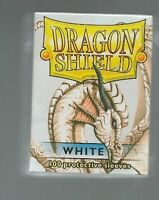 Arcane Tinmen 100 Ct Dragon Shield White Standard Size Sleeves In Deck Box Toys