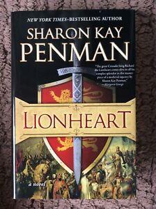 LIONHEART-Sharon-Kay-Penman-Hardcover-2012-Free-Postage