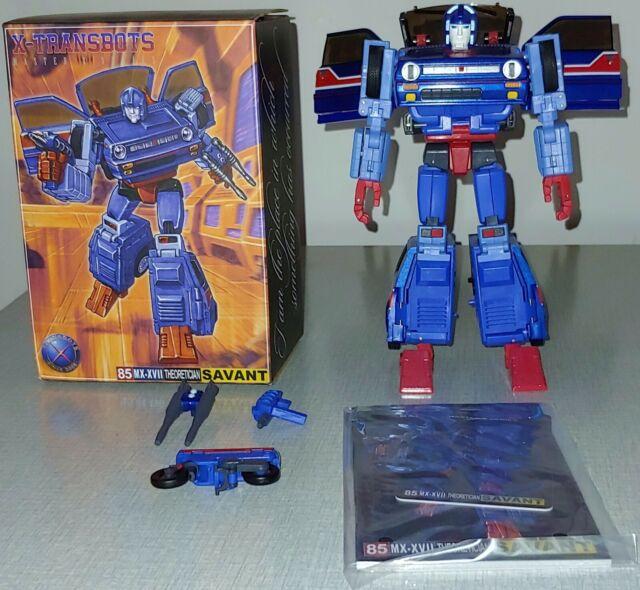 X-Transbots 85 MX-XVII Savant 3rd Party Transformers Masterpiece Skids