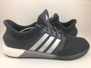 5b77b823ea416 New! Men s Adidas Solar Boost Running Gray Silver SZ 13 D69870 D2