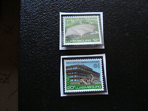 Luxembourg-Stamp-Yvert-and-Tellier-N-1124-1125-Nsg-A22-Stamp