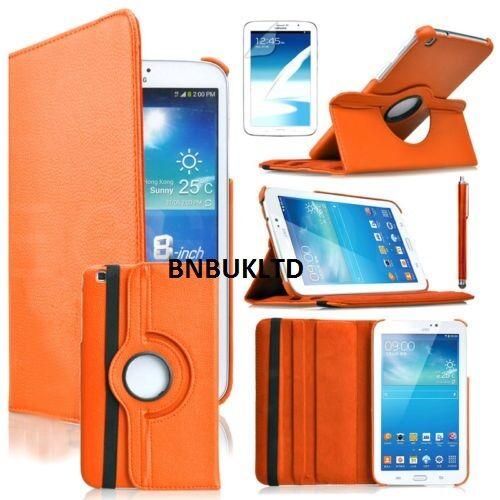 360 ° Rotatif étui pour Samsung Galaxy 20.3cm Pouce 8.0 TAB Tablette Cuir PU