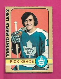 1972-73-OPC-277-LEAFS-RICK-KEHOE-ROOKIE-HIGH-EX-MT-CARD-INV-D2114