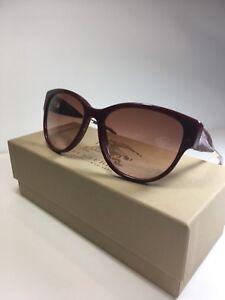 Óculos De Sol Feminino Burberry B 4190 3403 13 Vermelho Autêntico ... 029f29d01f