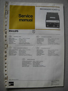 Philips-N2607-Service-Manual-inkl-Service-Infos