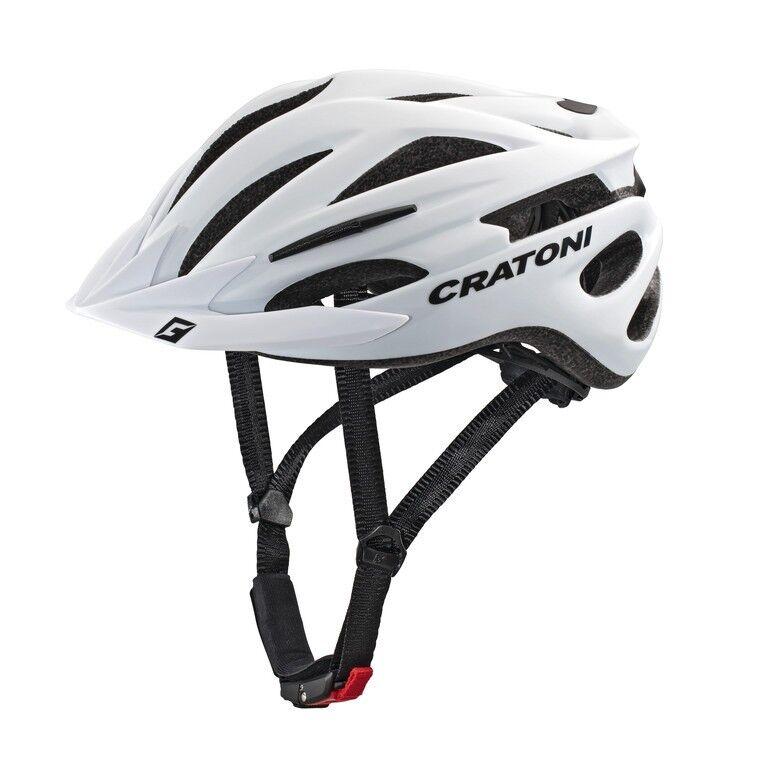CRATONI Pacer Fahrradhelm      weiß matt 7bae62