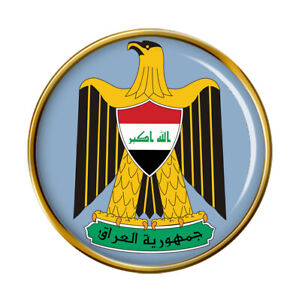 Irak-Broche-Badge