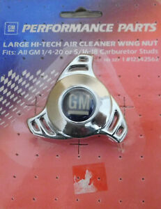 Proform-141-327-GM-Large-Hi-Tech-Air-Cleaner-Wing-Nut-1-4-20-amp-5-1-16-18-Studs