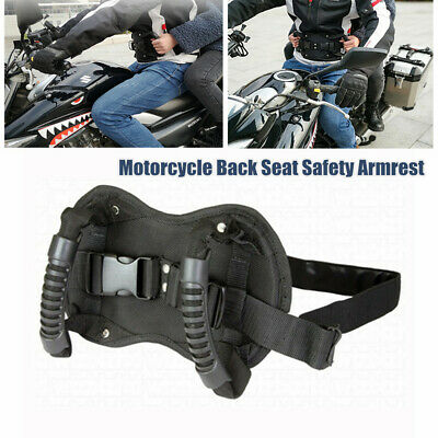 Safety Handle On The Back of Motorcycle Safety Belt Straps Grab Rope for ATV Snowmobile Yacht Rear-seat Passenger Straps with Handle Safety Belt Gri sazoley Safety Handle On The Back of Motorcycle