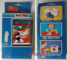 MUPI MAZINGA Z Il mostro gladiatore n° 5 COLOR SUPER 8 x VISORE A MANOVELLA
