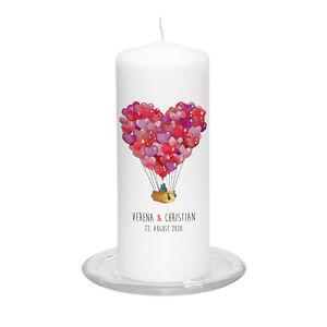 Hochzeitskerze-Love-Ride-inkl-Personalisierung-Hochzeit-Traukerze-Ballon-Herz