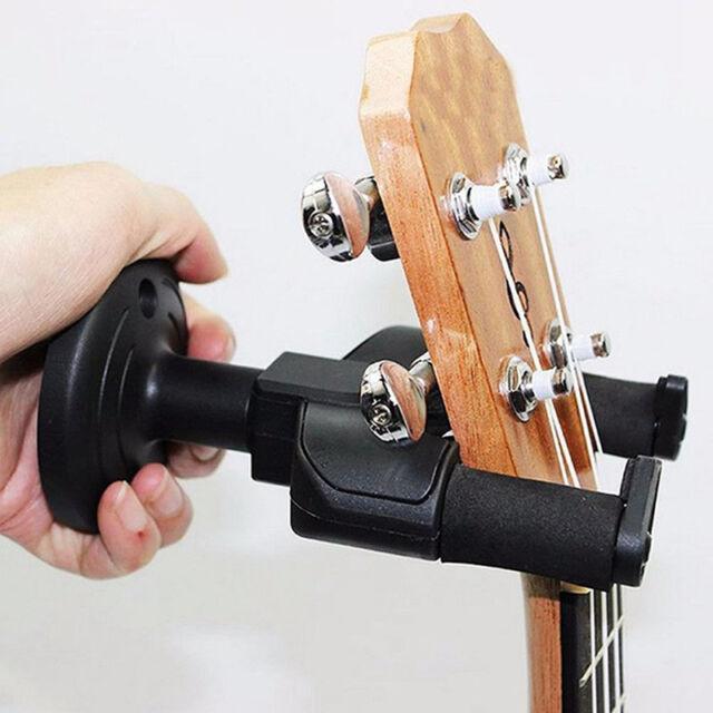 Electric Guitar Hanger Holder Rack Hook Wall Mount for All Size Guitar Set TOAP