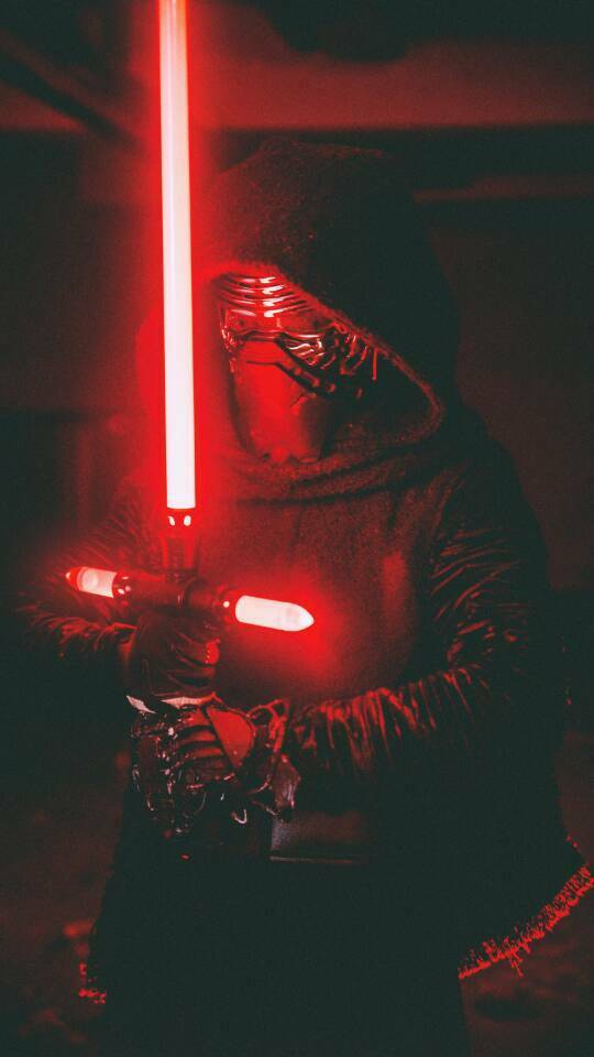 Star Wars Metal Lightsaber Combat Training Light saber Kylo Ren Cross-bar