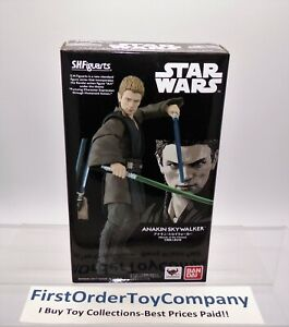 Star Wars Bandai SH Figuarts AOTC Anakin Skywalker Figure NEW SEALED AUTHENTIC