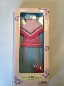 Madame-Alexander-Hannah-Pepper-doll-clothing-outfit-PINK-PARADE-New