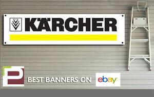 Karcher Banner for Workshop, Garage, Car Wash, Valeting, Detailing, Polish, Wax