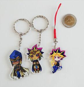 Yu-Gi-Oh-Keychain-Strap-Seth-Priest-Seto-Kaiba-Atem-Atemu-Yami-Yugi-Yuugi-Muto