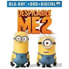 Despicable Me 2 (Blu-ray/DVD, 2013, 2-Disc Set, Includes Digital Copy UltraViolet)