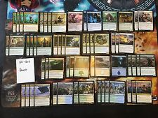 Mtg Complete 60-Card Decks - **Bant** - Thragtusk, Eldrazi Displacer +More