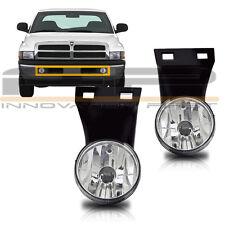 1994-2001 Dodge RAM 1500 2500 3500 Pick Up Fog Lights Clear W/O Sport Package