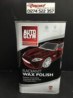 AUTOGLYM RADIANT SUPER RESIN WAX POLISH 5 LITRE NEW *FREE DELIVERY*