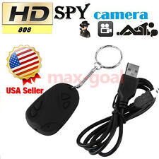 Mini HD 808 Camcorder Car Key Chain Nanny Camera DVR Digital Cam Video Recorder